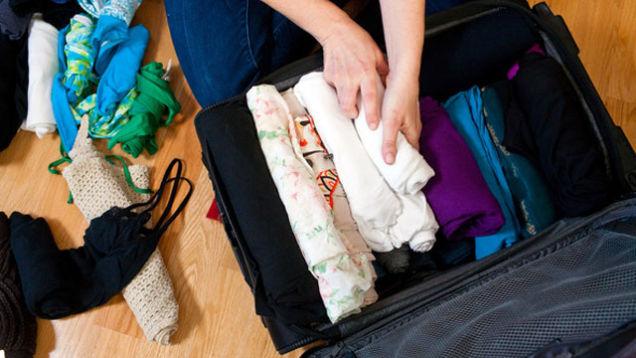 Tips Untuk Packing Pakaian