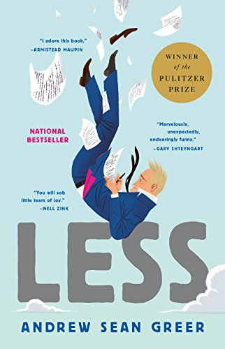 cover of Andrew Sean Greer's novel Less