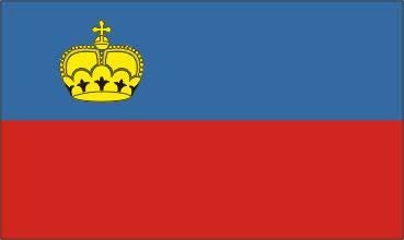 Bandeira de Liechtenstein