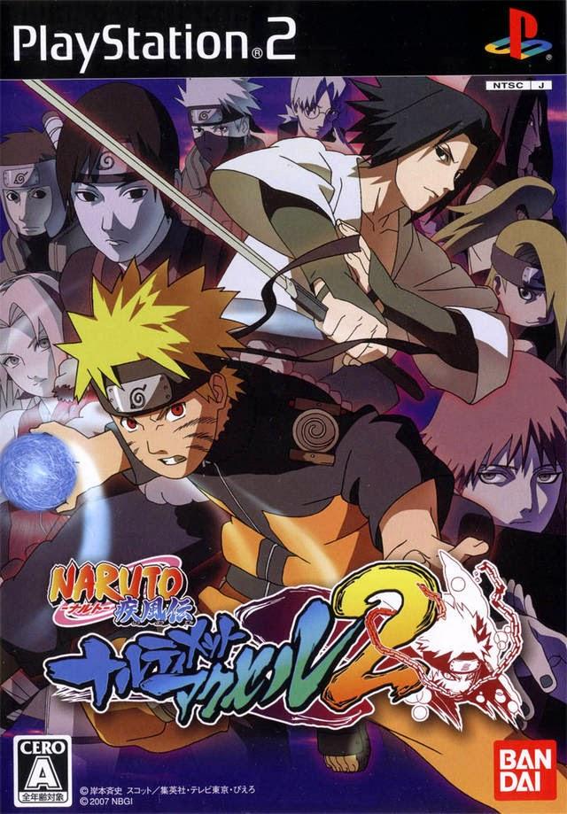 NARUTO SHIPPUDEN: NARUTIMATE ACCEL 2 PS2