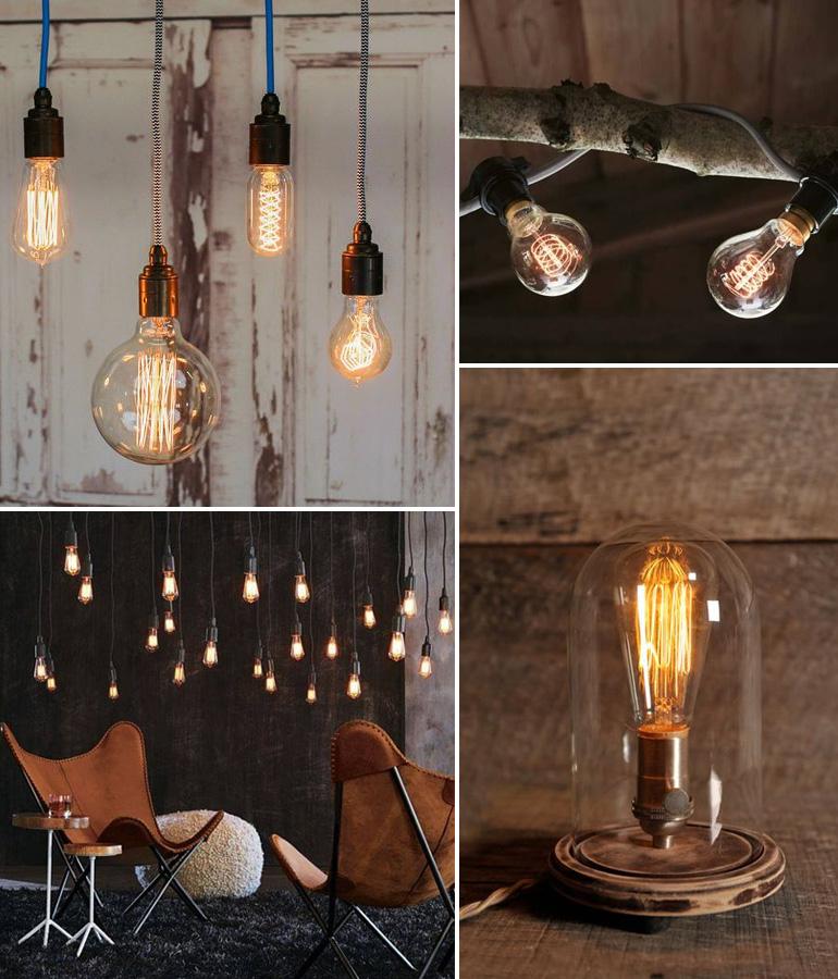 Des Ampoules À Filaments Dans Ma Déco | Louise Grenadine - Blog