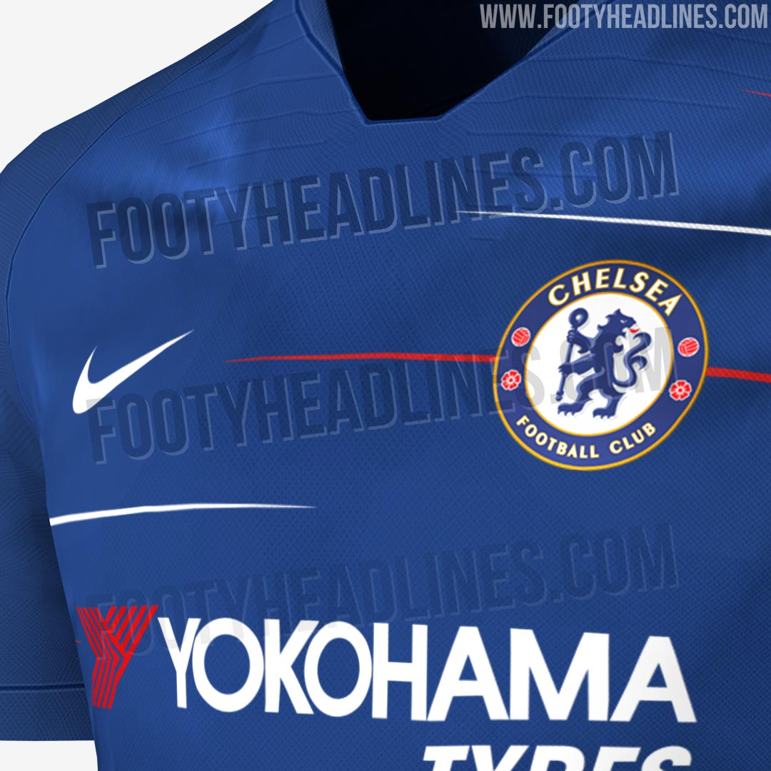 Premier League 17 Matchday Round Season 2018 2019: EXCLUSIVE: Chelsea 18-19 Home Kit Leaked