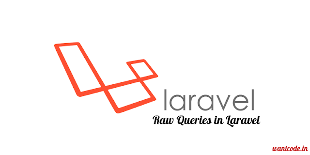 Laravel raw query