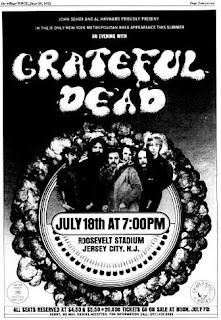 When Did Grateful Dead Play City Island
