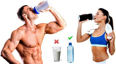Empezar a tomar batidos proteínas