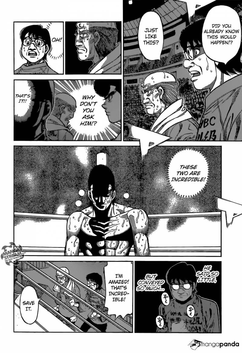 Hajime no Ippo - Chapter 1106