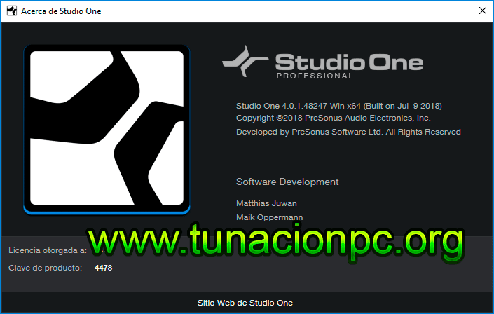 Descargar Studio One Pro Gratis