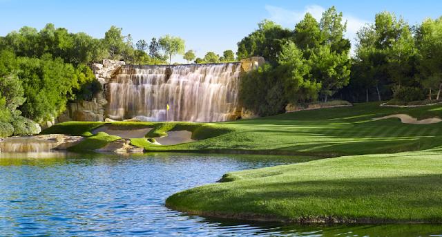 Campo de golfe do Wynn em Las Vegas