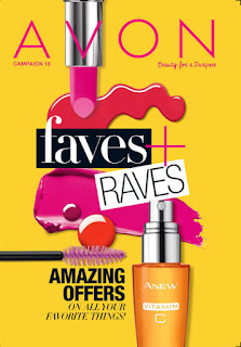 Avon Campaign 18 The Online date on this Avon Catalog 8/6/16 - 8/19/16