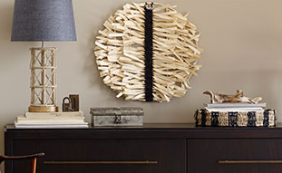 my local target stores have put the current collection of nate berkus home decor on clearance for 50 off including the table lamp wall hanging