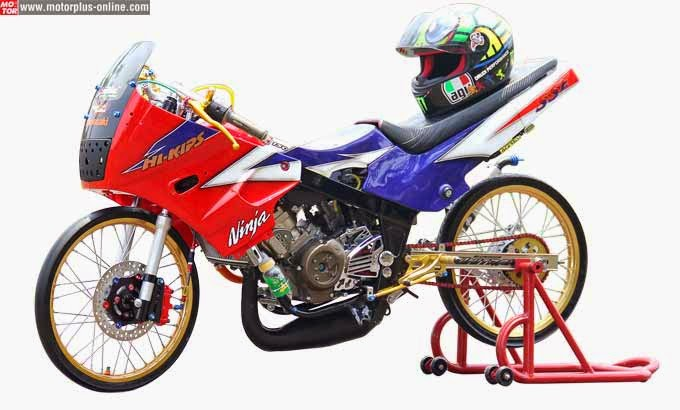 foto modifikasi kawasaki ninja bergaya thailook Gaya Modif Thailook Kawasaki Ninja 150R