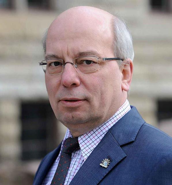 Rainer Wendt, presidente do sindicato alemão de polícia.
