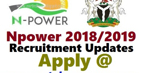Npower Registration form to Start 2018/2019 by November- Is Out