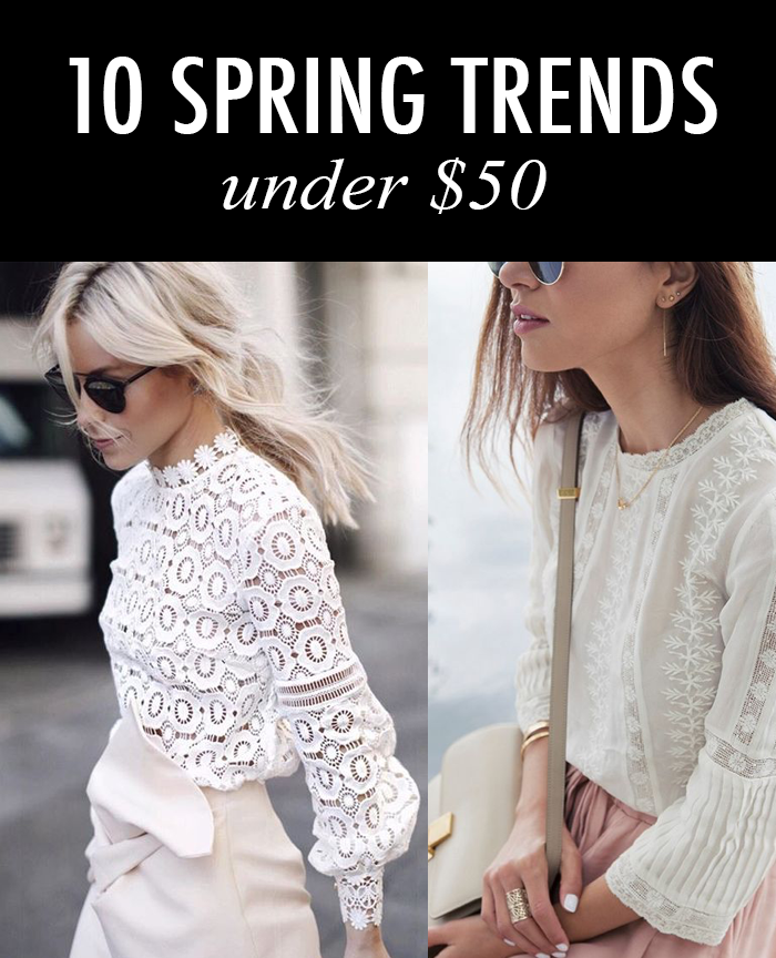 lace blouse spring