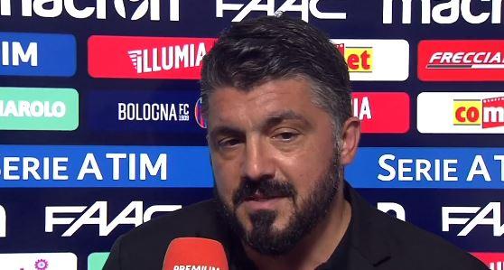"""Gattuso: """"Ora pensiamo partita per partita. Persi punti contro le piccole per mentalità"""""""