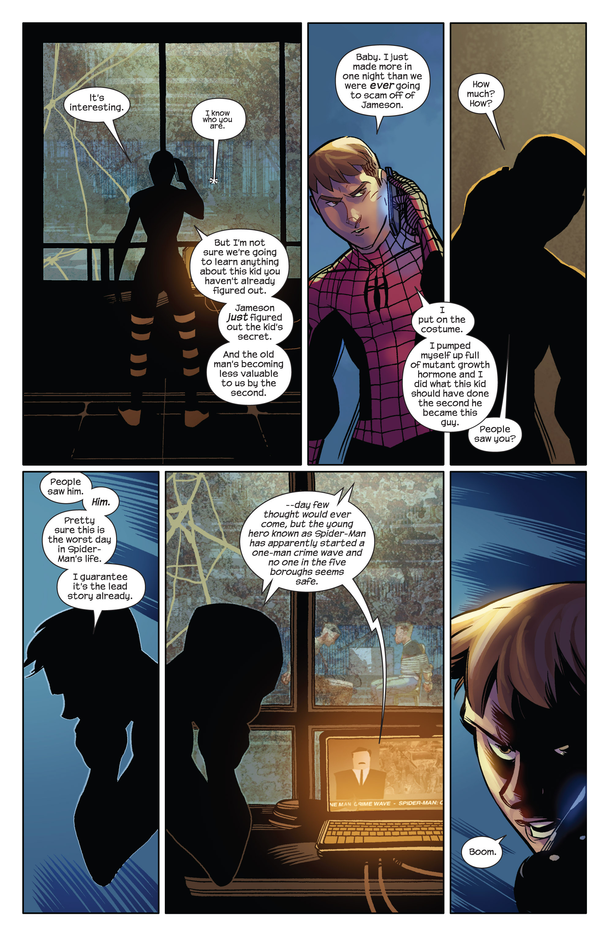 Read online Ultimate Spider-Man (2009) comic -  Issue #13 - 13