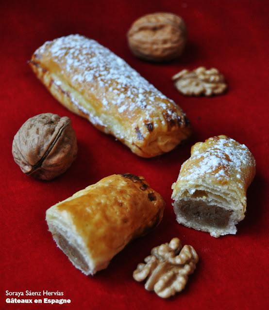 recette gateaux noix pate feuilletee