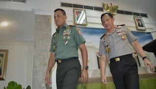 Demi Kepentingan Umum Panglima TNI Larang Pendemo Lakukan Shalat Jumat Di Jalan - Commando