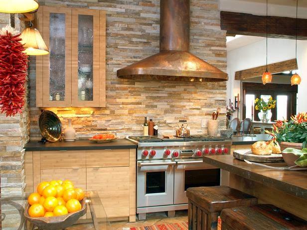 colourful ceramic tile backsplash for modern kitchen | Modern Furniture: 2014 Colorful Kitchen Backsplashes Ideas