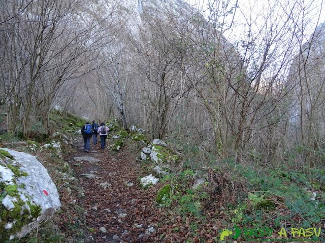 Subiendo de Taranes a la Foz de la Escalada