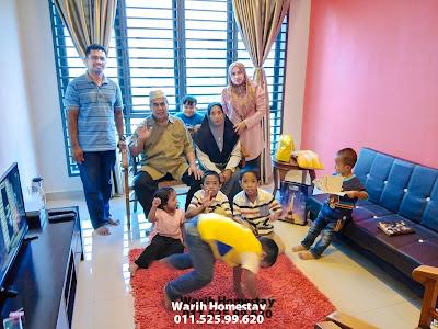 Warih-Homestay-Pn-Wahiyah-Sekeluarga