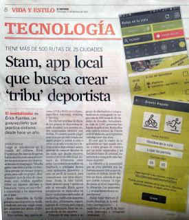 STAM, aplicación ecuatoriana para hacer ejercicio en grupo.