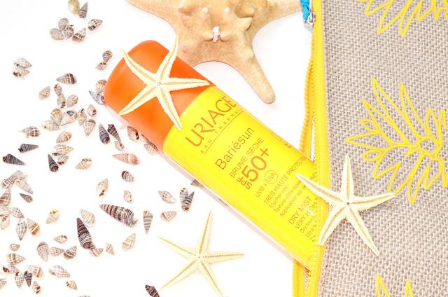 Инновация Uriage: санскрин в в форме мистов. Солнцезащитный спрей-дымка Uriage Bariesun Dry Mist SPF 50+ Увлажняющий спрей Uriage EAU THERMALE Water Mist SPF30