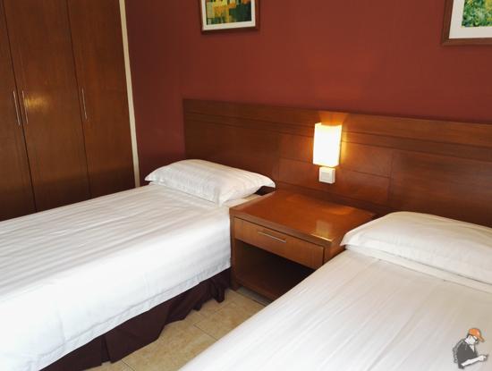 Begini Rupa Bilik Gold Coast Malacca International