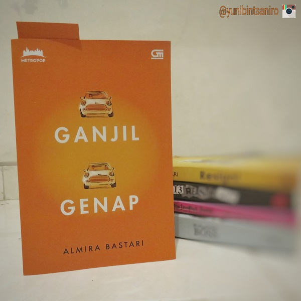 Sampul Novel Ganjil Genap