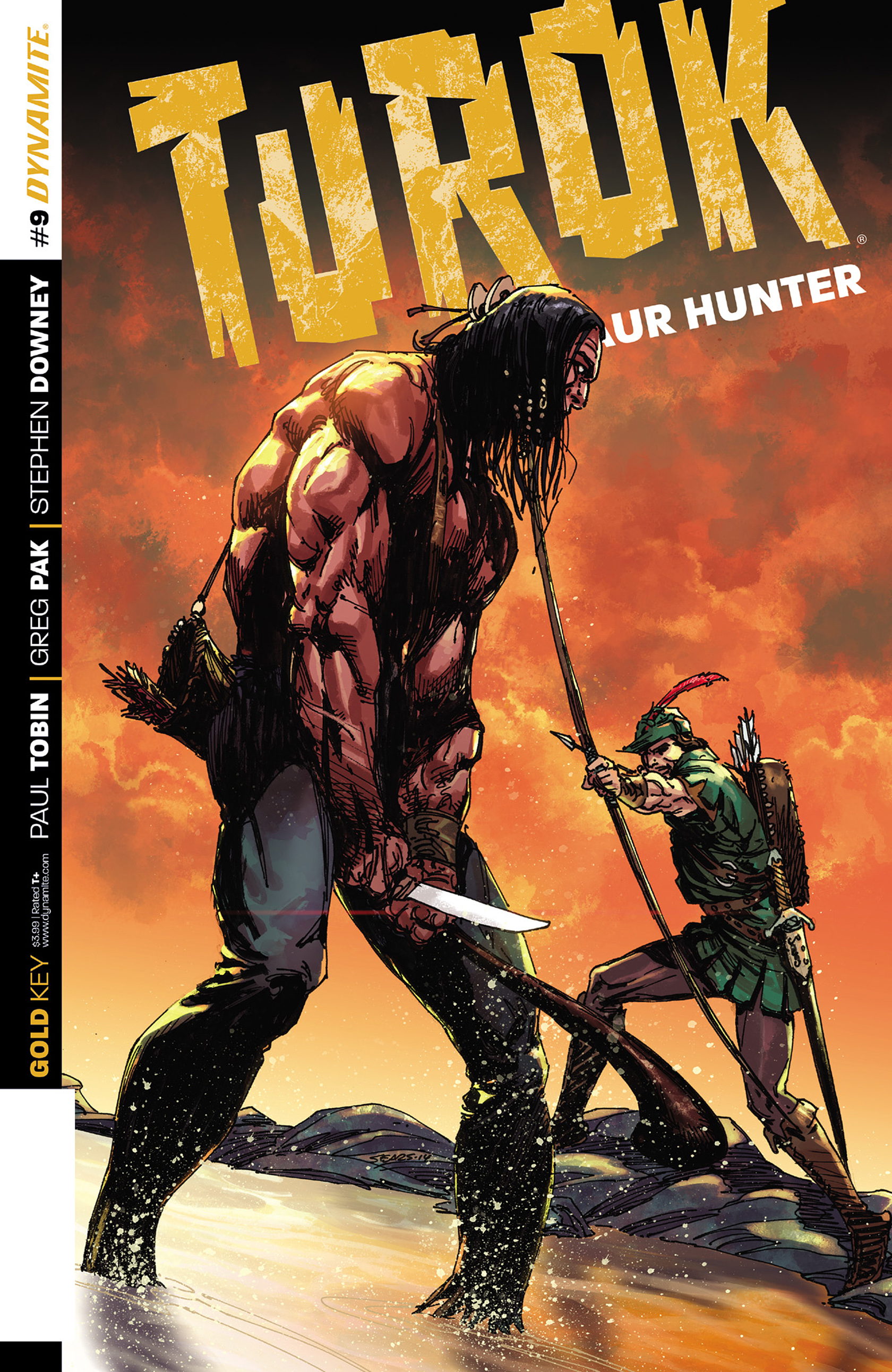 Read online Turok: Dinosaur Hunter (2014) comic -  Issue #9 - 1