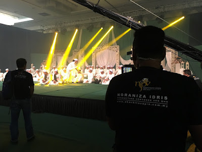 Rakaman #GemaTakbirRaya oleh Noraniza Idris Production Ventures Sdn Bhd di IDCC Shah Alam