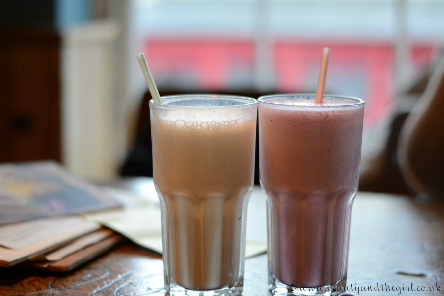 Boston Tea Party Milkshakes