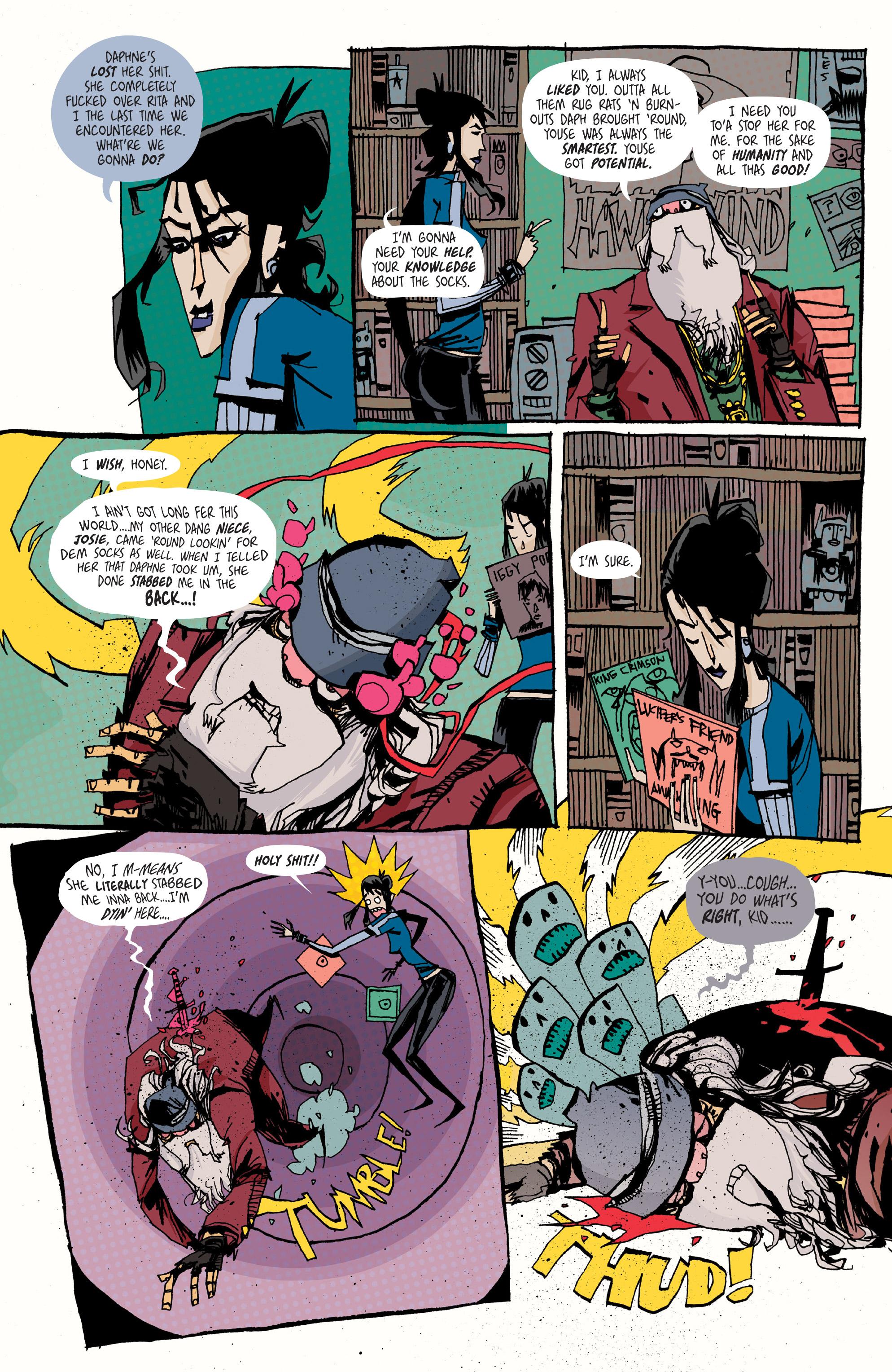 Read online Grrl Scouts: Magic Socks comic -  Issue #2 - 11
