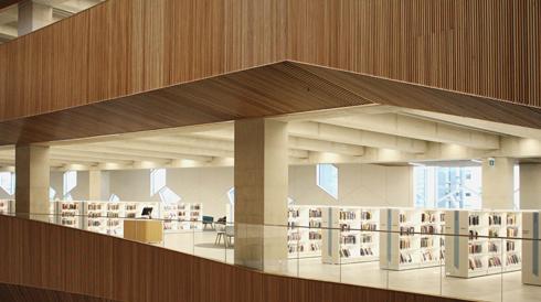New Central Library Calgary Alberta