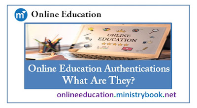 Online Education Authentications - What Are They?