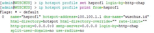 Cara Setting MikroTik Agar Client Hotspot Tidak Login Otomatis Mode Text