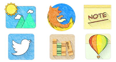 Sketchy - Icon Pack - 2