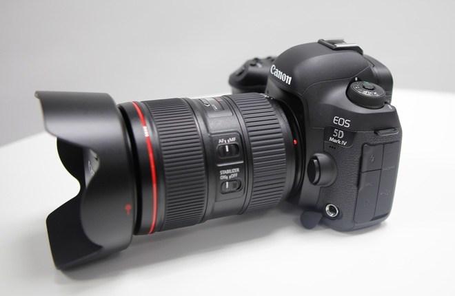 Canon 5D mark IV thau tom cong nghe