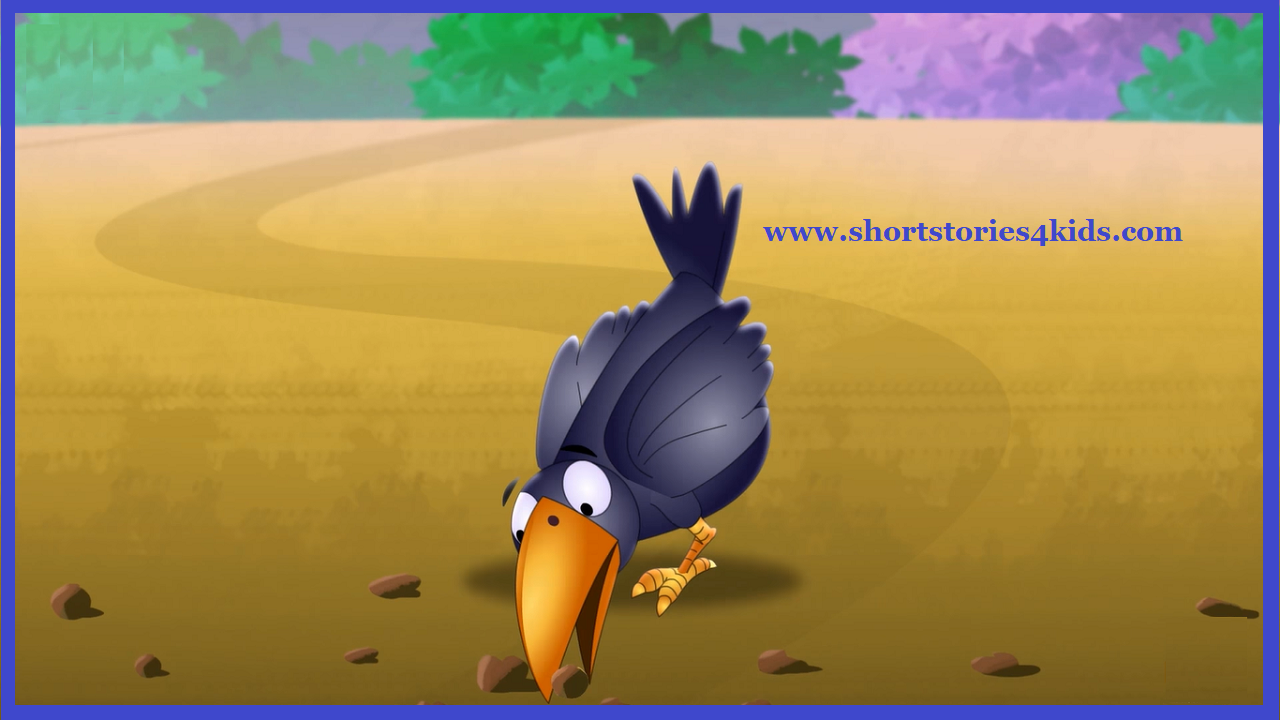 The Thirsty Crow - Short Stories for Kids - Short Stories for Kids