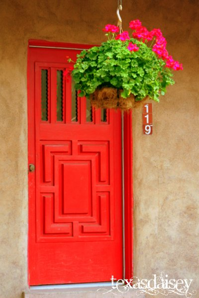 Taos New Mexico Red Door