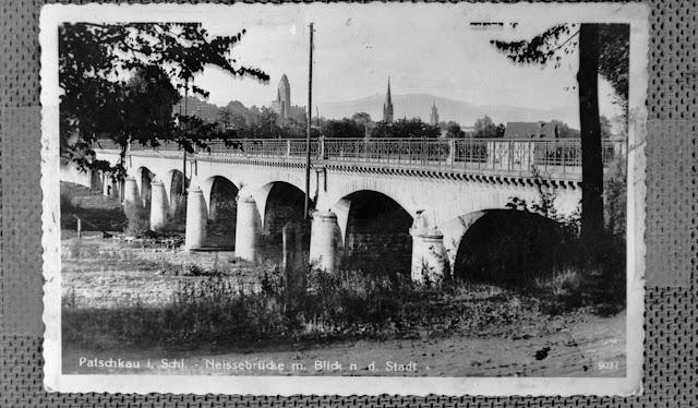 Reproduktion - Postkarte - Patschkau in Schlesien - Paczków Polen