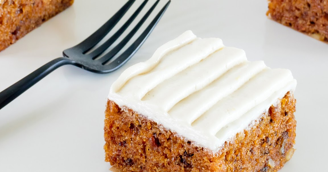 Carrot Cake W Cream Cheese Frosting Recipe