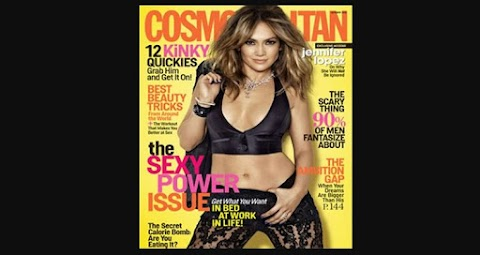 Jennifer Lopez on Cosmopolitian Magazine