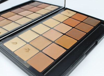 RCMA Foundation Concealer Palette VK #10 VK #11 KA 5 review
