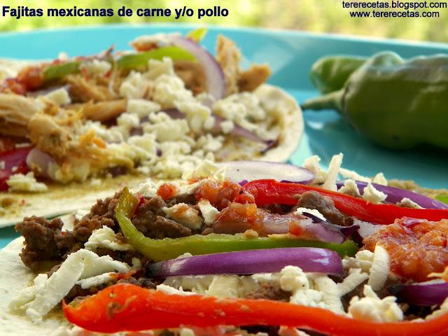 fajitas mexicanas carne o pollo 01