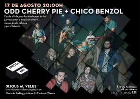Chico Benzol y Od cherry pie en Amstel Art