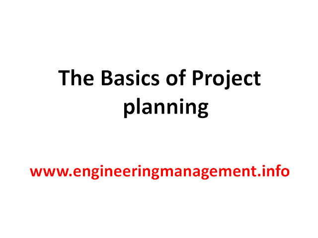 The Basics of Project Planning