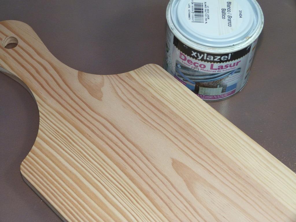 Como decorar una tabla de cocina con tela isabel vintage - Decorar tabla madera ...