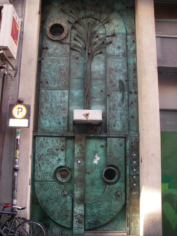 New Life In Ireland Steampunk Door