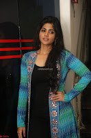 Megha Akash in a beautiful Anarkali dress with Long Jacket at LIE success meet ~  Exclusive Celebrities Galleries 022.JPG
